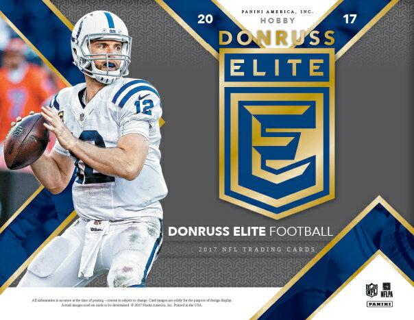 NFL 2017 DONRUSS ELITE FOOTBALL BOX