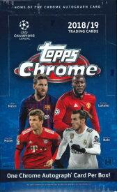 2018/19 TOPPS UEFA CHAMPIONS LEAGUE CHROME BOX