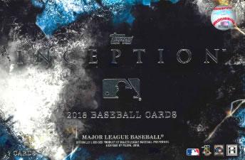 MLB 2018 TOPPS INCEPTION BASEBALL