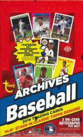MLB 2019 TOPPS ARCHIVES BASEBALL HOBBY BOX (送料無料)8月21日入荷