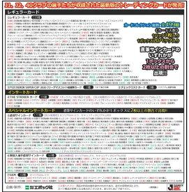 2020 Jリーグオフィシャルトレーディングカード BOX(送料無料) 6月20日発売