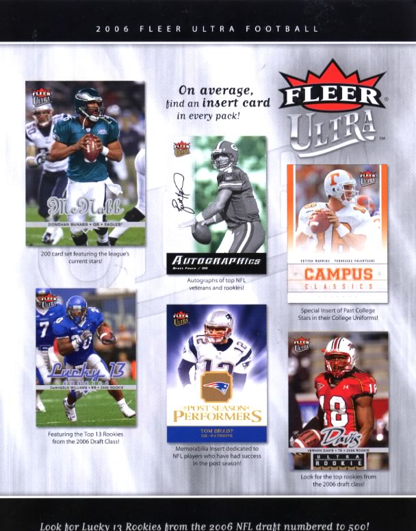 ■セール■NFL 2006 FLEER ULTRA(送料無料)