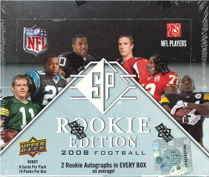 NFL 2008 SP ROOKIE EDITION