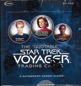"THE""QUOTABLE"" STAR TREK: VOYAGER TRADING CARD 「スタートレック:ヴォイジャー」名言トレーディングカード(送料無料)"