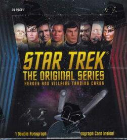 STAR TREK:THE ORIGINAL SERIES HEROES & VILLAINS 「スタートレック:英雄と悪役」トレーディングカード
