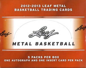 ■セール■2012/2013 LEAF METAL BASKETBALL BOX