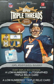 ■セール■NFL 2010 TOPPS TRIPLE THREADS