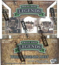 2011 PRESS PASS LEGENDS FOOTBALL