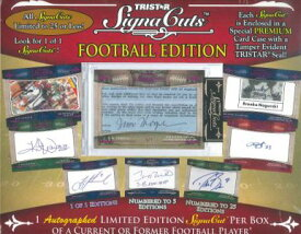 2011 TRISTAR SIGNACUTS FOOTBALL EDITION