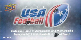 2011 UPPER DECK USA FOOTBALL カードセット