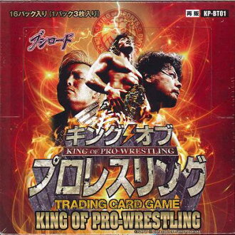 King of professional wrestling booster pack first KP-BT01 BOX