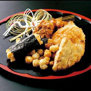 餅三昧+朱雀 二段重ねセット【おかき・せんべい】