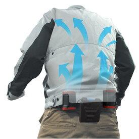 熱中症対策商品 衣服を選ばない「空調ツインファン」 NIKKO