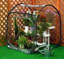 ミニ温室 ガーデンハウス L (サイズ 奥行95cm×幅95cm×高さ110cm)【送料無料】