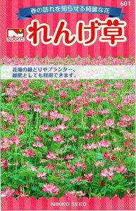 日光種苗 れんげ草(レンゲソウ、蓮華草) 18mL 【601】【郵送対応】