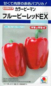 タキイ交配 カラーピーマン フルーピーレッドEX 約30粒 【郵送対応】