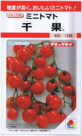 タキイ交配 ミニトマト 千果(ちか) 約12粒 【郵送対応】