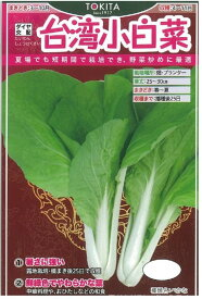 トキタ種苗 台湾小白菜 10ml【郵送対応】