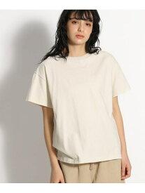 [Rakuten Fashion](W)USACBIGハンソデTEE niko and... ニコアンド カットソー Tシャツ ホワイト オレンジ グレー ブラウン
