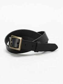 [Rakuten Fashion](W)レザーフトベルト niko and... ニコアンド ファッショングッズ ベルト ブラック ブラウン【送料無料】