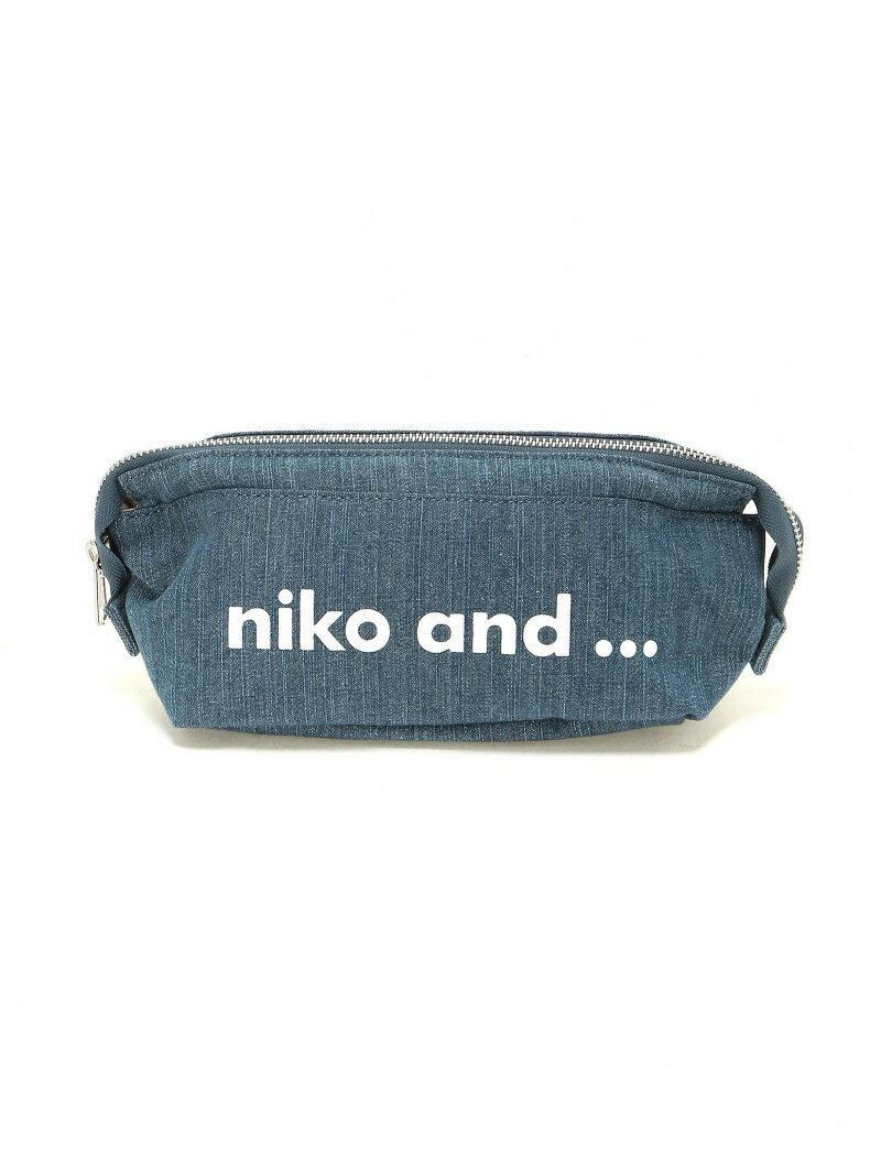 [Rakuten BRAND AVENUE]OR ニコロゴポーチM niko and... ニコアンド バッグ