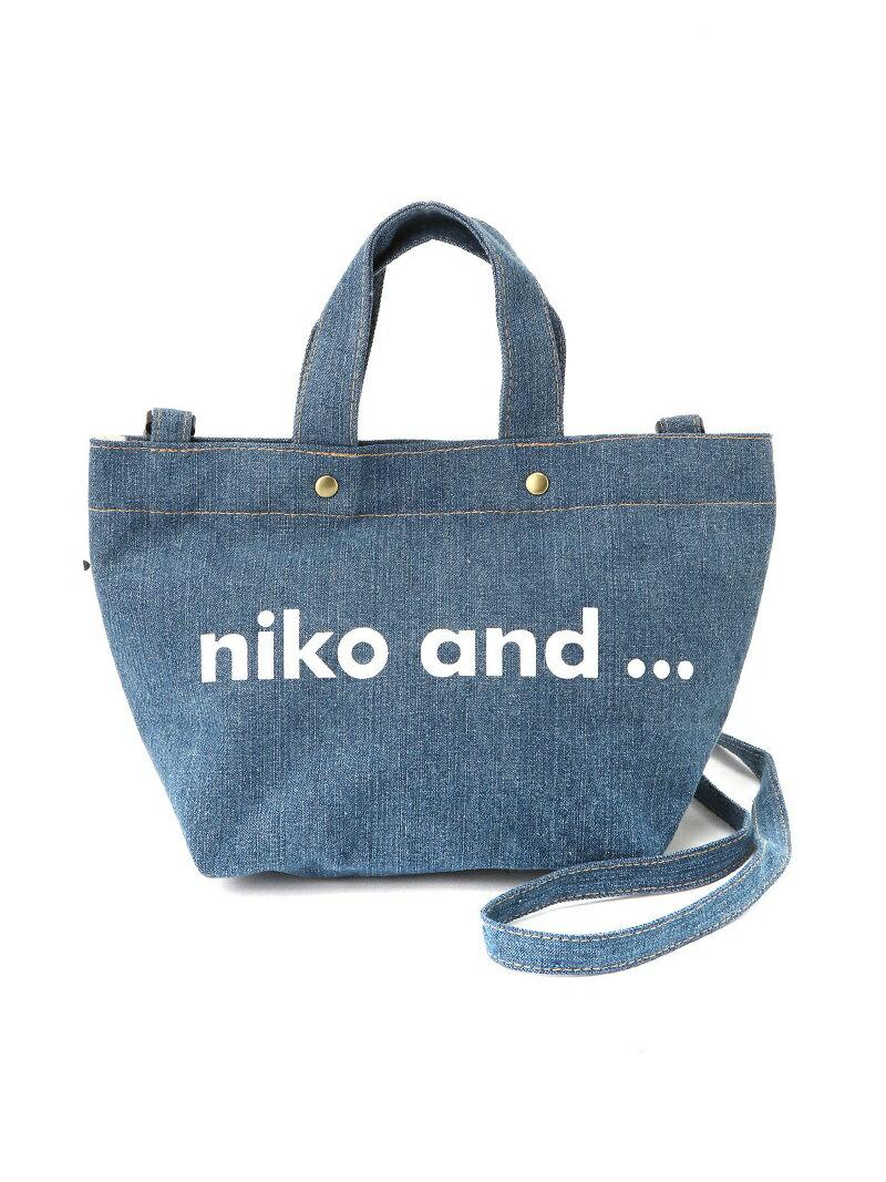 [Rakuten BRAND AVENUE]ORニコロゴトートSDBAG niko and... ニコアンド バッグ