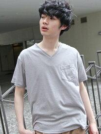 [Rakuten BRAND AVENUE]【SALE/70%OFF】(M)M/NTCメランジVNTシャツ niko and... ニコアンド カットソー【RBA_S】【RBA_E】