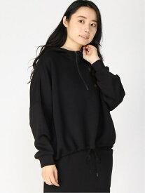 [Rakuten Fashion]【SALE/50%OFF】(W)ダンボールジップPK niko and... ニコアンド カットソー パーカー ブラック グレー ブルー【RBA_E】