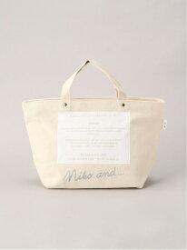 [Rakuten Fashion]ORNNKロゴBAG M niko and... ニコアンド バッグ トートバッグ ホワイト ピンク ブラック