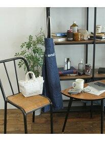 [Rakuten Fashion]ORニコロゴエプロン niko and... ニコアンド 生活雑貨 キッチン/ダイニング ブルー ブラック ホワイト
