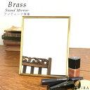 卓上 ミラー 鏡 おしゃれ 卓上鏡 北欧 ゴールド メイクミラー 卓上 鏡 ゴールド スタンドミラー メイク 化粧鏡 かがみ…