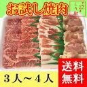 【送料無料】【☆4.73(10月19日現在)】鶏肉ってこんなにおいしいの?驚きの焼肉セット!3人分〜4人分。カルビ、モモ、豚バラ、鶏モモ肉のセット。牛肉、豚肉、...