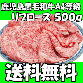 【鹿児島黒毛和牛】リブロース500g