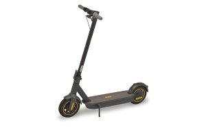 [セグウェイ - ナインボット] 電動キックボード マックス Kickscooter MAX 折りたたみ 65km航続 ワイヤーロック付属 1年保証 キックスクーター 正規品