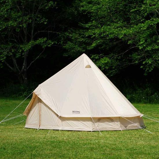 ワンポールテント 5〜8人用 ゲル型 テント UVカット 大型テント グランピング キャンプ 送料無料 Neutral Outdoor ニュートラルアウトドア GEテント4.0 NT-TE03