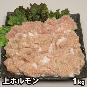 特盛 国産牛 上ホルモン テッチャン (大腸) 1kg 牛ホルモン 焼肉 バーベキュー BBQ