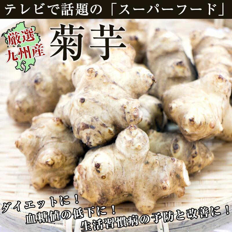 菊芋(きくいも)1袋(約500g) 佐賀県七山&福岡県糸島産 天然のインスリン ダイエットや生活習慣病の予防と改善に