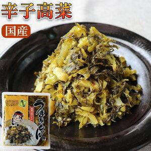 辛子高菜(マイルド)250g×2袋 国産【送料無料】辛子たかな/からし高菜/高菜炒め/からかもん/うまかもん/ふくや