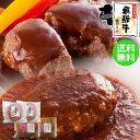 飛騨牛 二種の ハンバーグ セット 飛騨牛生ハンバーグ×2個・飛騨牛煮込みハンバーグ×2個 【ギフト箱入】 送料無料肉…