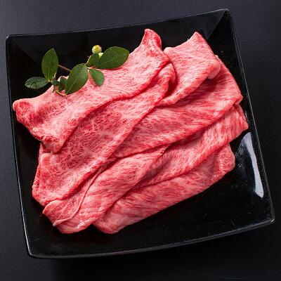 常陸牛すきやき用肩ロース霜降り肉600g常陸牛すきやき肩ロース皿盛り
