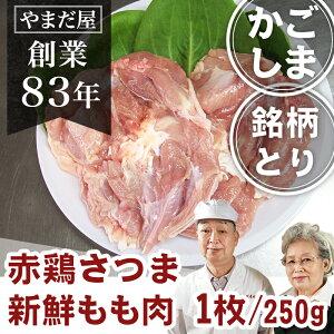 九州 鹿児島県産 銘柄鶏 赤鶏さつま もも身 約280g 1枚地鶏 国産 鶏肉 鳥もも肉 地どり とり肉 モモ肉 もも肉 お取寄せギフト 贈答 内祝い お雑煮 雑煮 出汁 美味しい おいしい