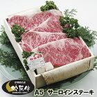 A5松阪牛サーロインステーキ