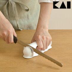 【全品クーポン★最大33倍】波刃が研げるシャープナーAP0163/パン切りナイフが研げるウェーブカットシャープナー貝印kai日本製p02