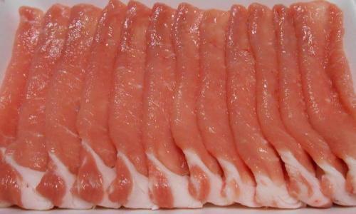 【豚肉】【国産豚】岩手県産豚ロースしゃぶしゃぶ用500g