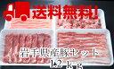 【送料無料】岩手県産豚1.2kセット(冷凍)