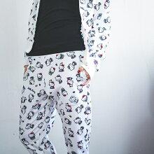 ハローキティジャージパンツ【2017冬】ninamew ニーナミュウ レディース ファッション  コラボ キティ サンリオ  【プレゼント梱包 無料】【あす楽対応_関西地方迄】