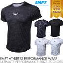 EMPT メンズ トレーニングウェア 半袖 | ジムウェア 吸汗 速乾 ランニングウェア オールシーズン フィットネスウェア…