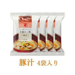 にんべん 【無添加】豚汁 4袋セット <常温・O>