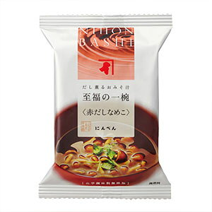 にんべん 【無添加】赤だしなめこ 1食分 <常温・O>