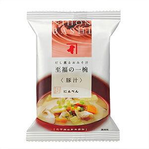 にんべん 【無添加】豚汁 1食分 <常温・O>